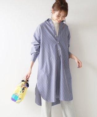 ≪予約≫パールボタンロングシャツ◆