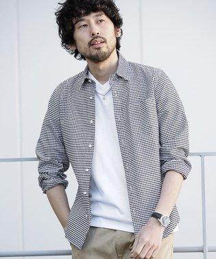 【WEB限定】レギュラーカラーパターンシャツ