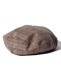【UR】チェックベレー帽