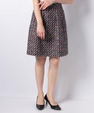 【セットアップ対応】CLARENSON ミックスツィードスカート