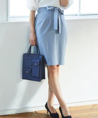 【ドラマ着用】ベルトラップタイトスカート
