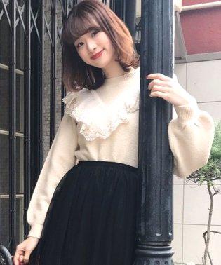 【Ray 3月号掲載】ボタニカルレースニットプルオーバー
