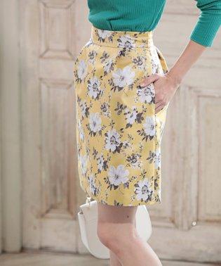 ★ジャガード花柄スカート