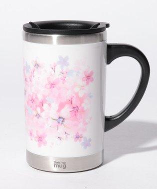 桜柄スリムマグカップ