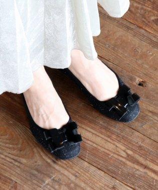 【Bridget Birkin Walk】デザインリボンウォーキングパンプス