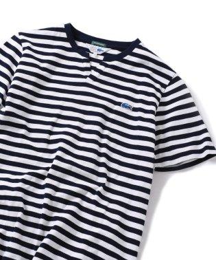 SHIPS JET BLUE×LACOSTE: スキッパー カノコ ポロシャツ