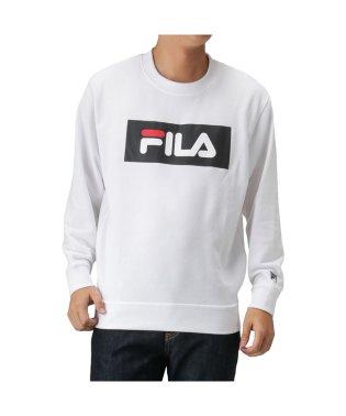 FILA フィラ 裏毛ボックスロゴトレーナー FH7447