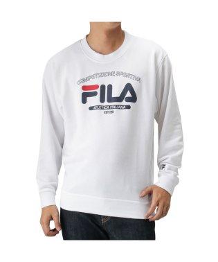 FILA フィラ 裏毛デザインプリントトレーナー FH7448