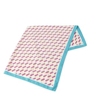 レトロ幾何柄スカーフ