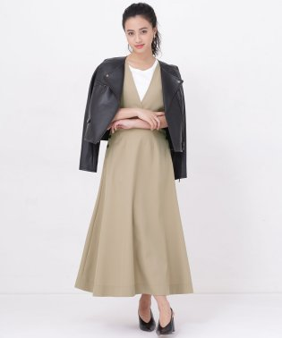 【WEB限定】サイドボタンジャンパースカート