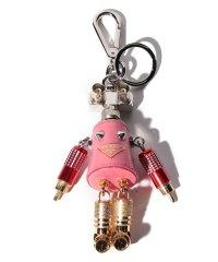 【PRADA】キーホルダー/ロボット【BEGONIA】