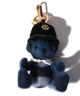 【BURBERRY】トーマスベア/ポリス【BLUE】