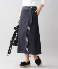【Tricolore】トロンプルイユデニムスカート