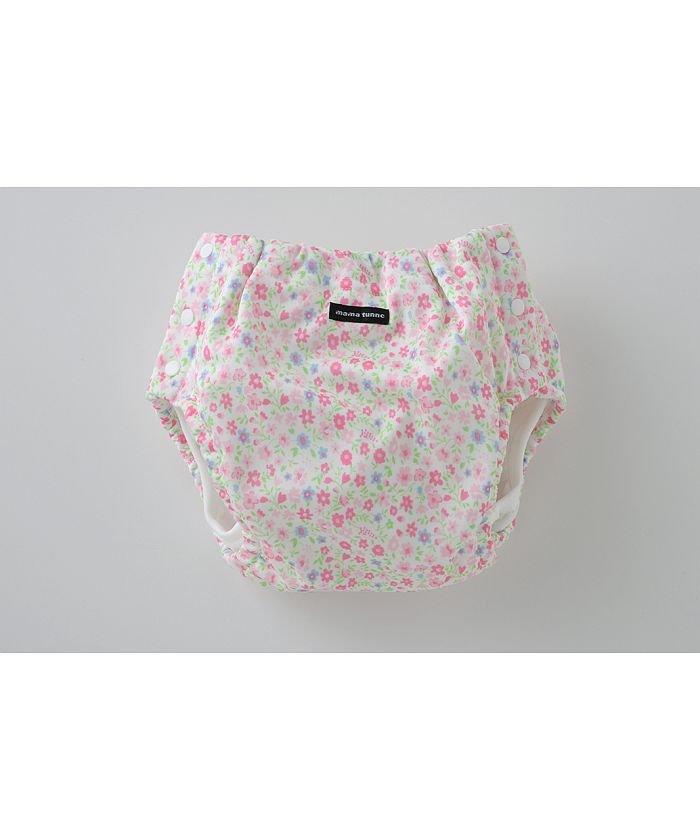 (chuckleBABY/チャックルベビー)ママトンネおむつカバー両開き型小花柄/ ピンク