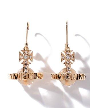 【Vivienne Westwood】725539B/2 PAISLEY ORB ピアス GO