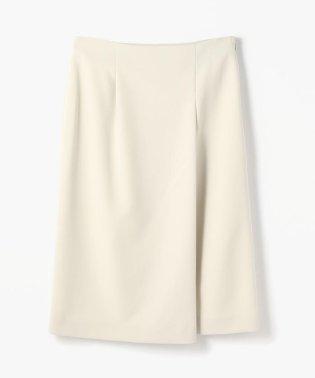 トリアセテートポリエステル アシンメトリーIラインスカート