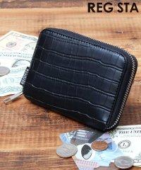 ビルフォードウォレット/二つ折り財布/ミニウォレット/クロコ