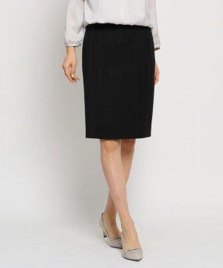 [L]シャドーストライプタイトスカート