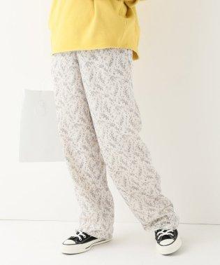 【CLANE/クラネ】PETIT FLOWER WIDE PANTS