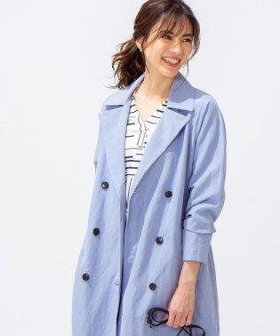【VERY3月号掲載】Bio Linen トレンチ コート