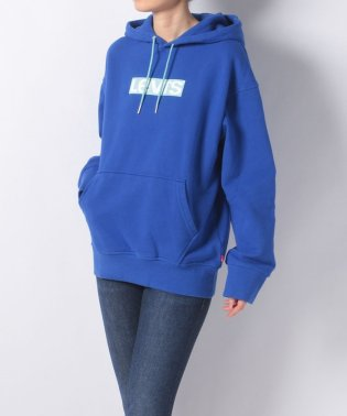 THE UNISEX LOGO HOODIE ROYAL BLUE GROUN
