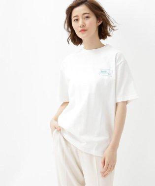 カラーロゴプリント半袖Tシャツ