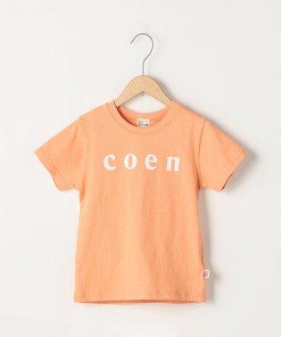 【ファミリーでおそろい・coen キッズ / ジュニア】coen(コーエン)ロゴTシャツ・カラー(100~130cm)