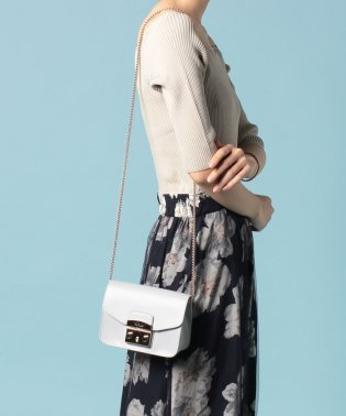 【FURLA】ショルダーバッグ METROPOLIS MINI CROSSBODY METROPOLIS BGZ7 COLOR CRISTALLO d