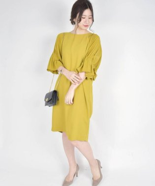 Virca:タックスリーブドレス