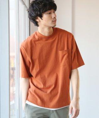 USAコットンビッグシルエットクルーネックTシャツ2