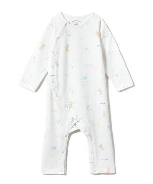 【BABY】アニマルバスタイムbabyロンパース