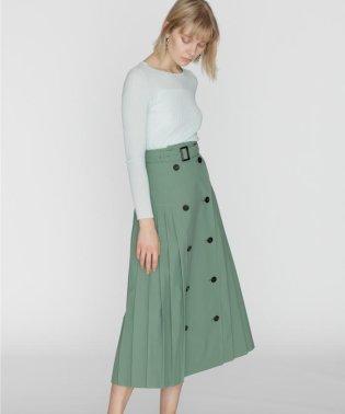 トレンチプリーツスカート
