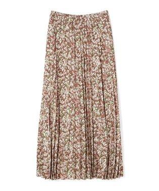 《BLANCHIC》スプリングフラワープリーツマキシスカート
