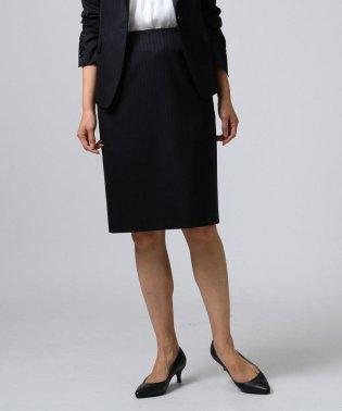 [L]ティエラミューズストライプタイトスカート