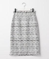 ファンシーツイードハイウエストスカート