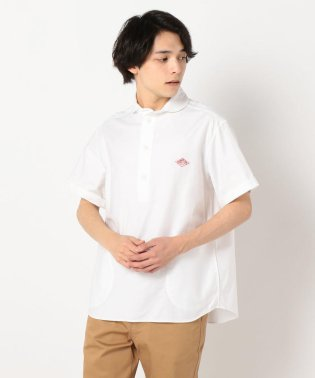 【DANTON/ダントン】丸襟オックス 半袖シャツ JD-3569YOX