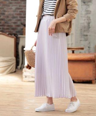 |CanCam 5月号掲載|プリーツサテンスカート