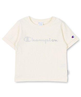 【Champion×RADCHAP】ロゴ半袖Tシャツ