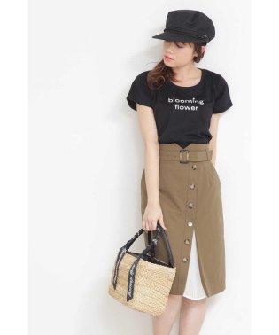 ◆トレンチプリーツタイトスカート