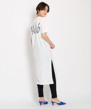 【別注アイテム】VANS スリットロングTシャツワンピース