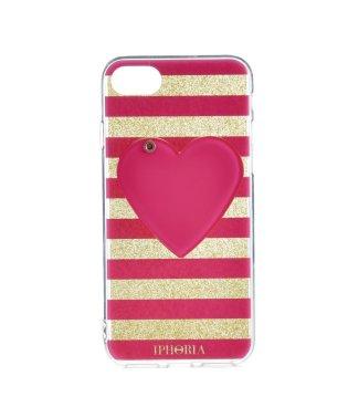 【iPhone8/iPhone7対応】 ミラーケース付き Mirror Case Pink Heart