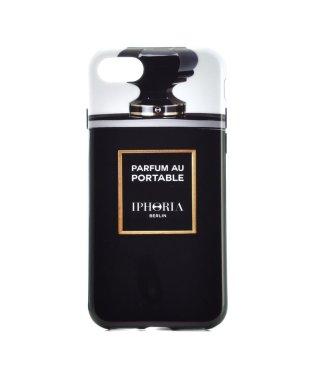 【iPhone8/iPhone7対応】 パフュームボトルシリーズ Parfum au Portable Blacker tha