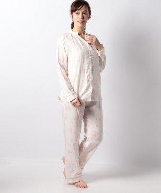 フラワーラグラン型パジャマセット