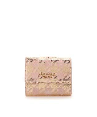 ピッグレザーチェックシリーズ 折財布