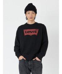 【至極の逸品】バットウィングロゴスウェットシャツ ブラック