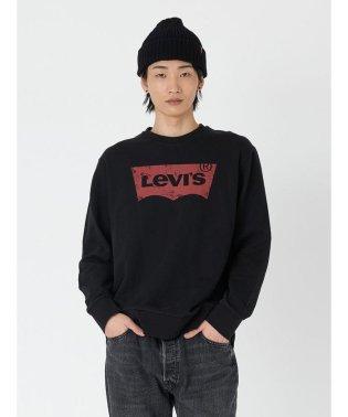 バットウィングロゴスウェットシャツ ブラック
