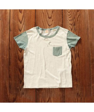 1960'S BOXY TEE MINT/THYME