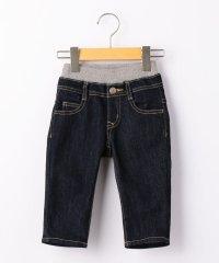 SHIPS KIDS:ダブルウエスト 5ポケット デニムパンツ(80~90cm)