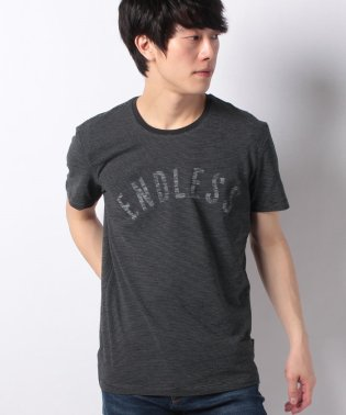 グラフィックボーダー半袖Tシャツ・カットソー