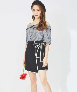 【Ray 4月号掲載】パイピングリボンスカート